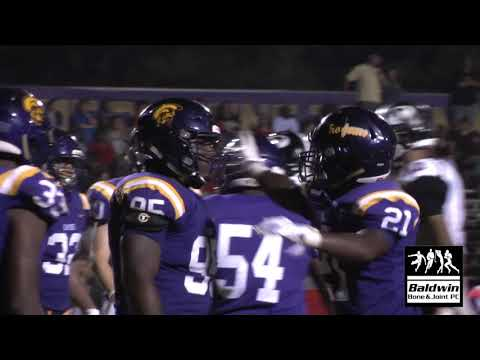 HIGHLIGHTS – Theodore at Daphne High School  (8/24/2018)