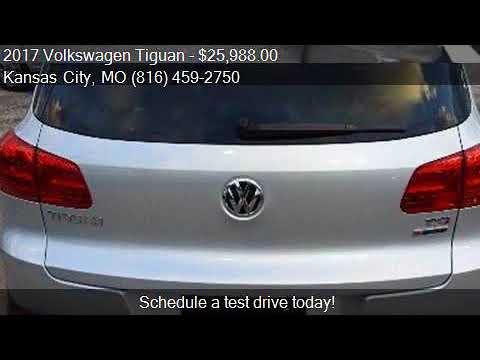 2017 Volkswagen Tiguan 2.0T Wolfsburg Edition 4Motion AWD 4d