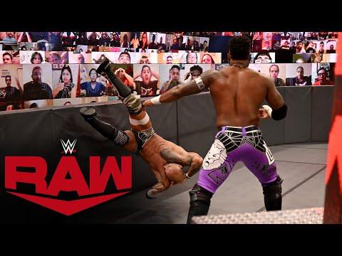 Cedric Alexander joins The Hurt Business: Raw, September 7, 2020