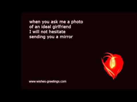 funny short valentine poems for her - youtube, Ideas