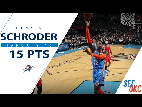Dennis Schroder's Full Highlights: 15 PTS Vs Blazers | 2019-20 NBA Season - 1.18.20
