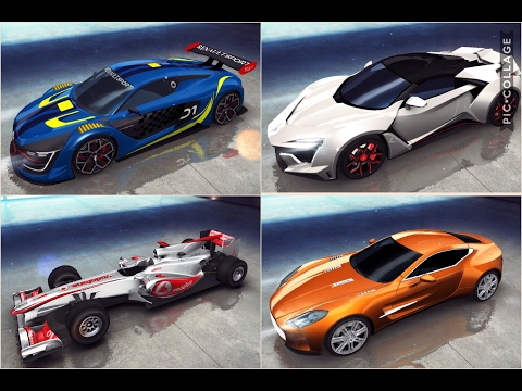 Asphalt 8, aguila.negra, multiplayer, MP4-25, Renault SuperSport, Fenyr & Aston Martin One