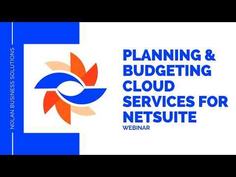 Webinar - Planning And Budgeting Cloud Services With NetSuite
