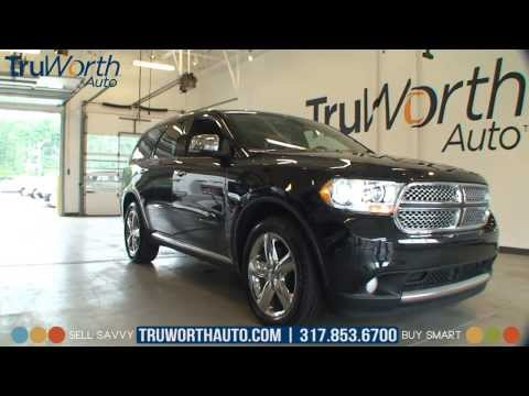 2011 Dodge Durango Citadel - Clean CARFAX - Touch Screen Navigation - TruWorth Auto