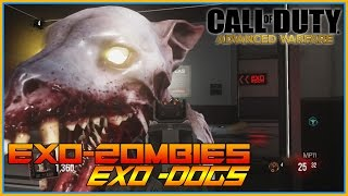 Call Of Duty - EXO Zombies, 3d Printer, Perk Machines, Zombie dogs, Item Drops ROUND 1-15 Part 1