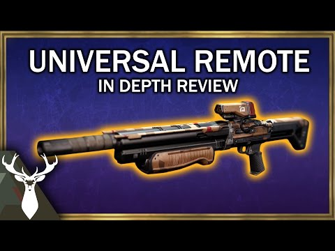 Universal Remote - In Depth Exotic Weapon Review (Primary Shotgun)