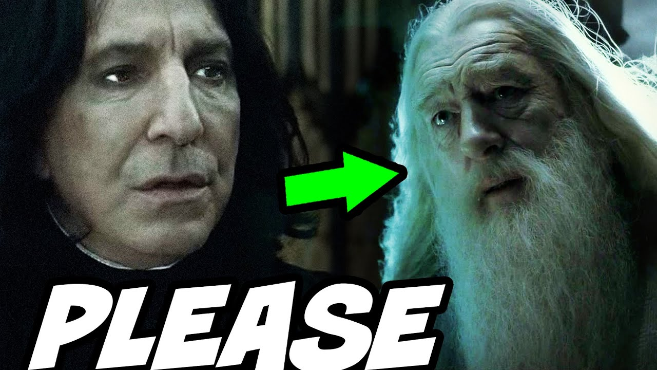 Why Dumbledore Pleaded with Snape Before Death - Harry Potter Explained
