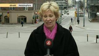 Centern ser ut att bli vinnare i finska valet - Nyhetsmorgon (TV4)