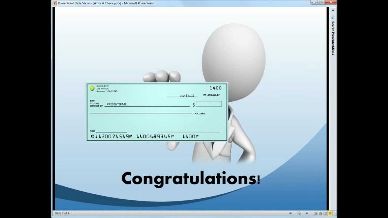 Write a check pt 1 youtube write a check pt 1 ccuart Choice Image
