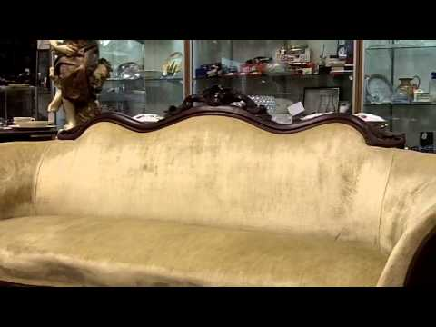 Victorian sofa from our antiques mall at Gannon's Antiques