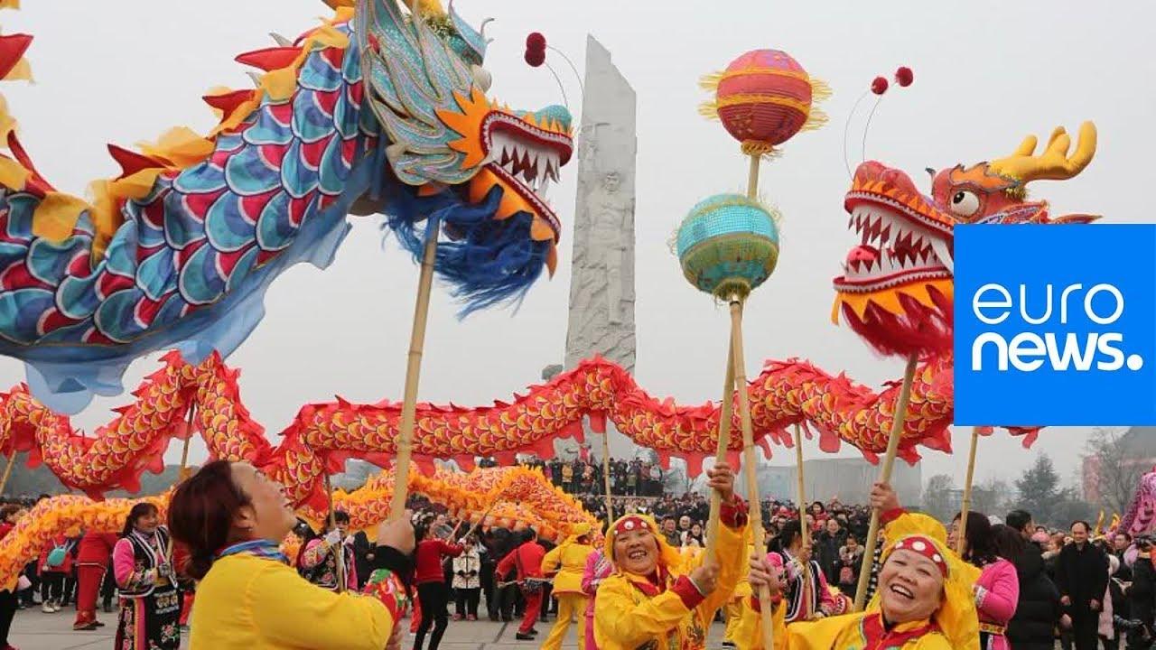 Celebrating The Chinese New Year Youtube
