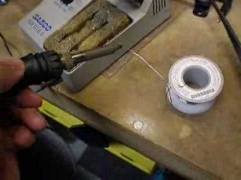 how to clean the soldering tip part 1 youtube. Black Bedroom Furniture Sets. Home Design Ideas