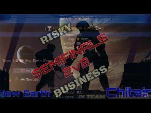 Team New Earth vs. Team Chitain - Risky Business 2v2 Semifinals