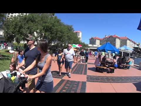 O que fazer em Tampa? River Walk - Descobrindo America