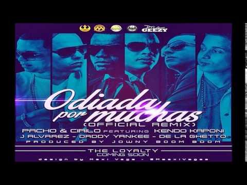 Pacho y Cirilo Ft. Kendo Kaponi J alvarez y Mas - Odiada Por Muchas (Official Remix) (Letra/Lirycs)