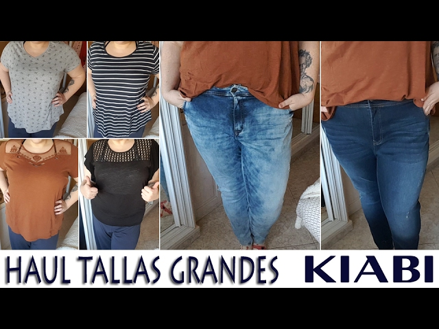 Haul Tallas Grandes Kiabi Mimixxl Youtube