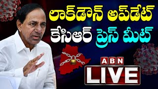 KCR LIVE | CM KCR Video Conference LIVE Over Lockdown Situation In Telangana | ABN LIVE