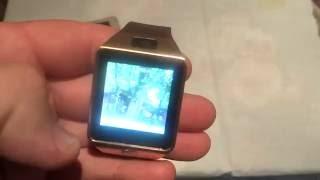 умные часы dz09, флешка, аирмаус и другое из Китая. Видео 112