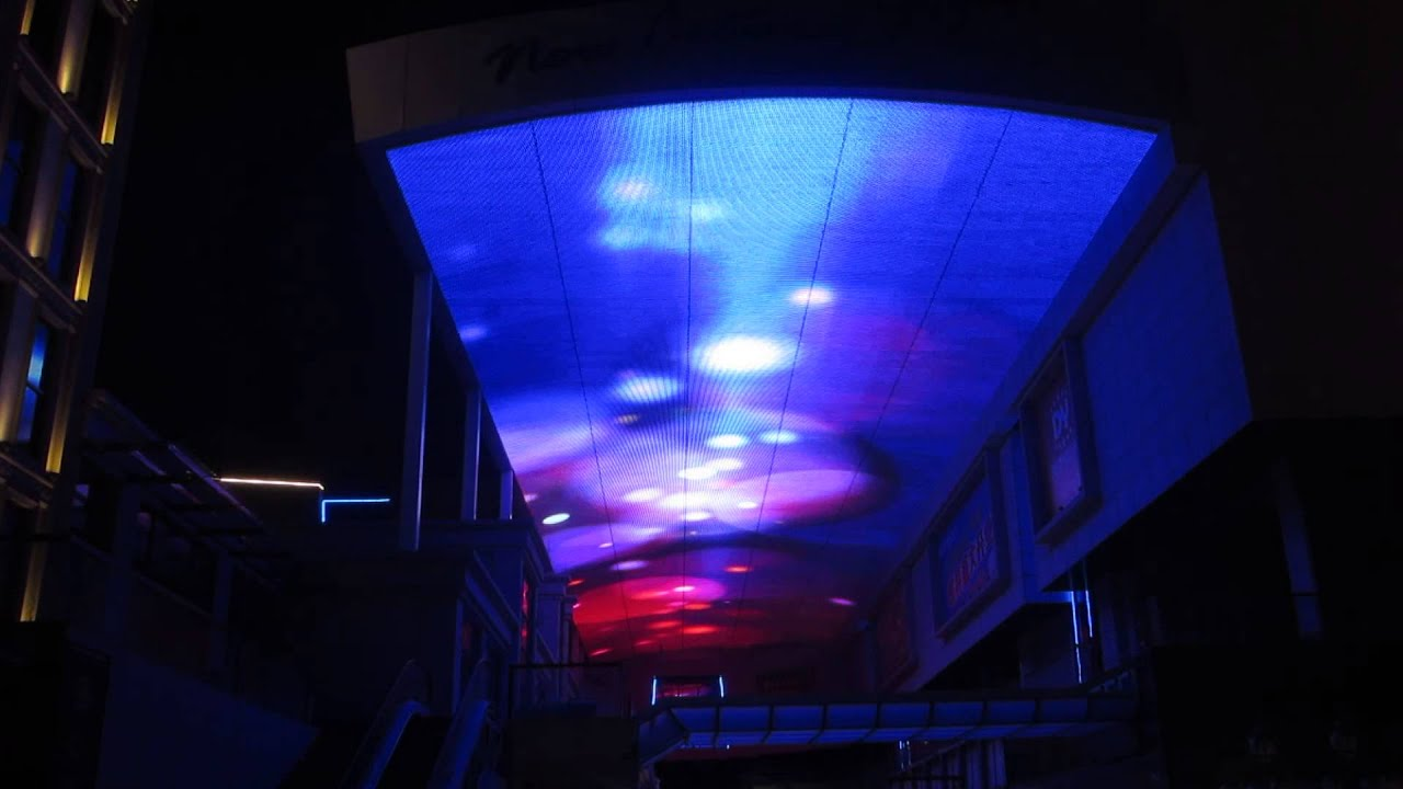 Led Sky Screen For Ceiling Decoration Youtube