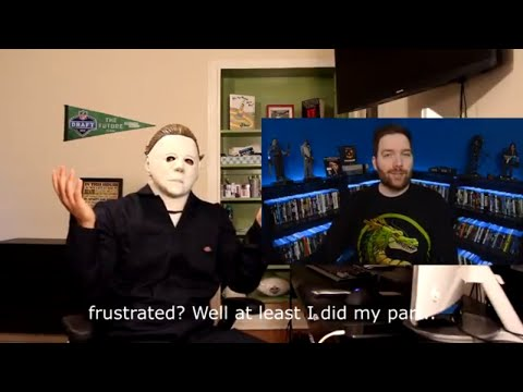 Michael Myers reacts to Halloween 2018 - MOVIE REVIEWS