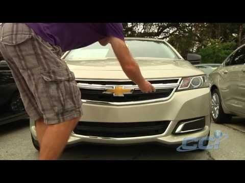 2014 Chevy Impala Outfitted With CCI Grille Overlay