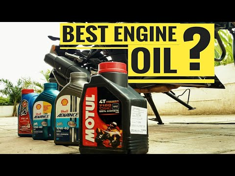 BEST ENGINE OIL FOR YOUR BIKE | BEST ENGINE OIL FOR CITY