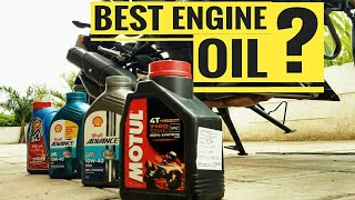 BEST ENGINE OIL FOR YOUR BIKE | BEST ENGINE OIL FOR CITY TRAFFIC RIDING & LONG DISTANCE TOURING