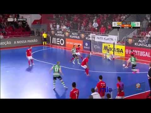 Benfica 4-1 Sporting - Gols e Resumo - Liga Sport Zone 2018