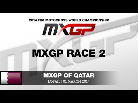 MXGP of Qatar 2014 - Replay MXGP Race 2
