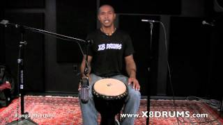 Learn Fanga Rhythm on Djembe - Online Lesson Preview