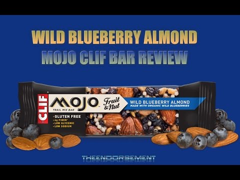 CLIF BAR MOJO - WILD BLUEBERRY ALMOND REVIEW #59