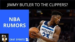 NBA Rumors: Jimmy Butler To The Clippers, NBA Media Day 2018, Kyrie Irving Commits To Celtics