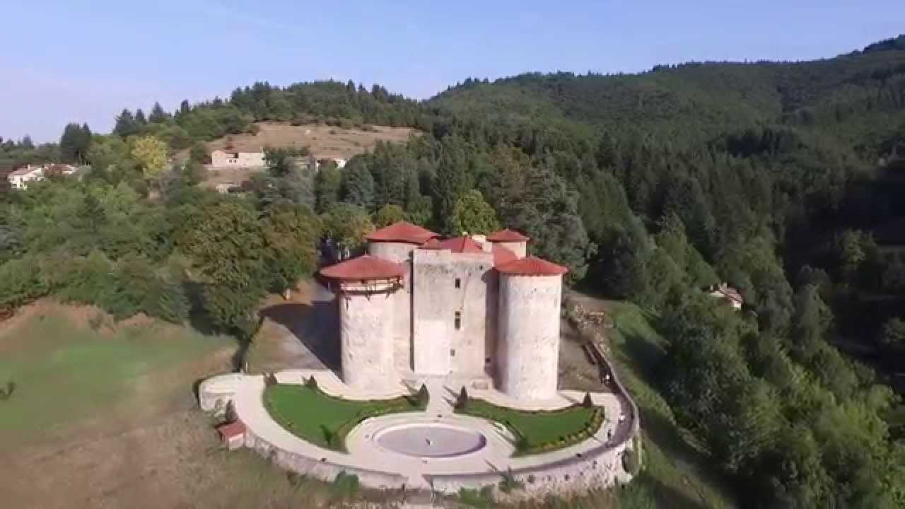 Le Chateau De La Ch U00e8ze  07  Vu D U0026 39 Un Drone     Aout 2015