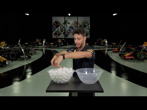 The Red Bull Racing 1.92 Second Challenge: Ping Pong! - Daniel Ricciardo
