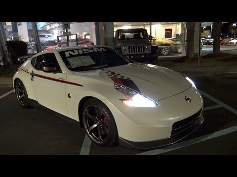 ⚫ New Nissan 370Z NISMO   🌃  Night Review & For Sale Review W/Test Drive