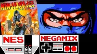 Ninja Gaiden NES MEGAMIX №12 Soundtrack Walkthrough Gameplay