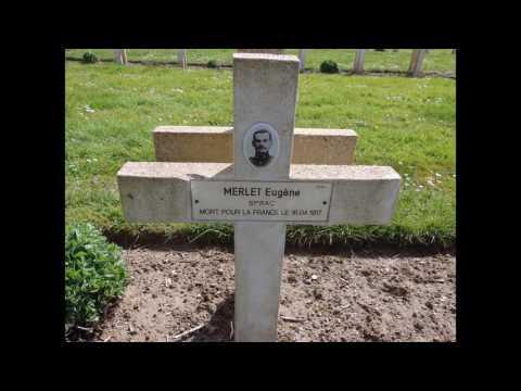 Chemin des dames : cimetière militaire français n°1 de Soupir (02)