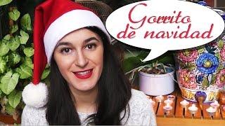 Gorrito de Navidad (versión mejorada) // Manualidades de Navidad