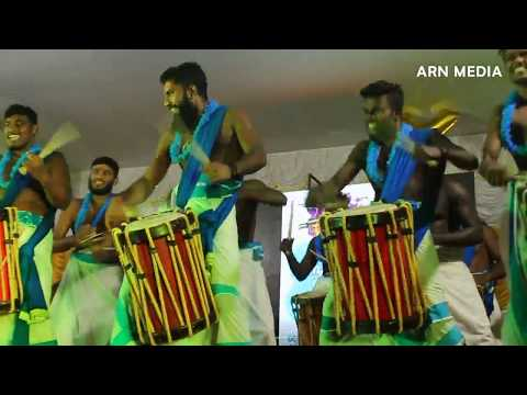 Ponnan's Blue Magic Singari Melam 2017 at Pazhanji Palli Perunal