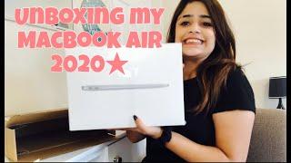 2020 MacBook Air Unboxing ☆