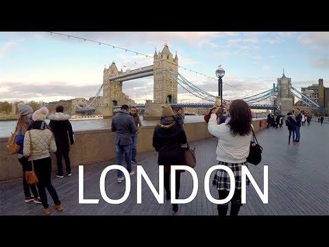 Tower Bridge London | Crew Travel VLOG #1