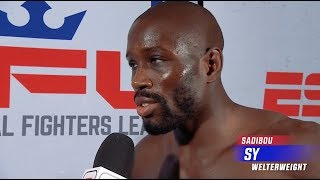 Sadibou Sy Makes A Statement to Open His 2019 PFL Season | PFL 1 2019 Post Fight Interview