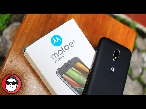 Unboxing Moto E3 Power - Stock Android Bangets!
