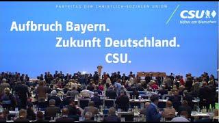 CSU-Parteitag live aus München (18.10.19)