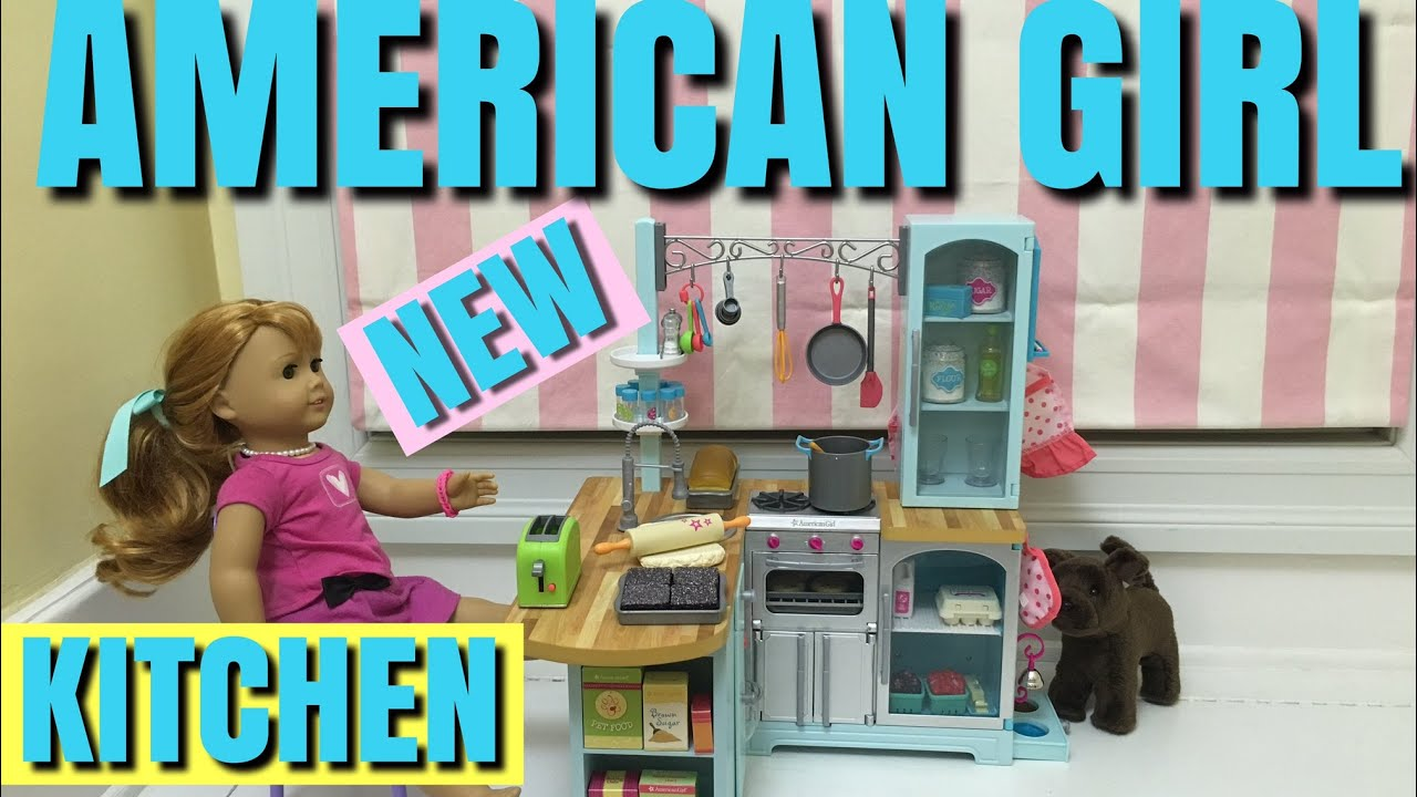 American Girl Gourmet Kitchen Set - NEW Unboxing and Review - YouTube