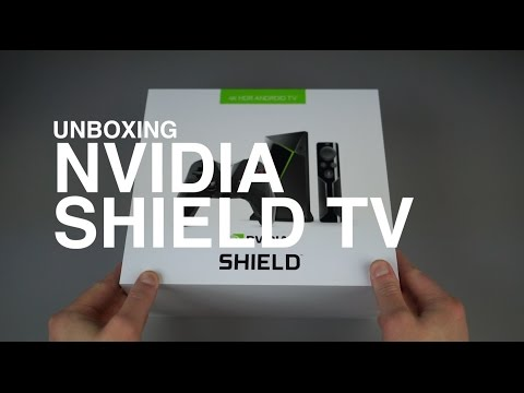 NVIDIA SHIELD TV (2017) Unboxing