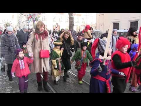 'Parade Of Christmas Stars' In Lviv