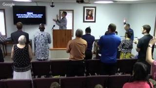 (7-22-18AM) Sunday Morning Worship - Brian Hawkins
