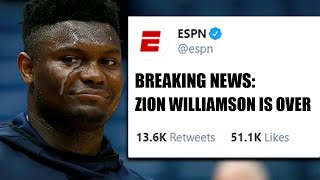 Why Zion Williamson Won't Last Long In The NBA