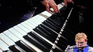 Elton John - Rocket Man Piano Intro (Live in Nürnberg 2014)